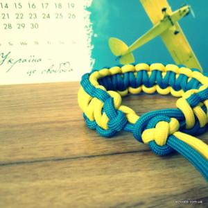 Браслет из паракорда кобра Ukraine
