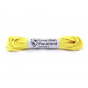 paracord 550 Guardian Yellow